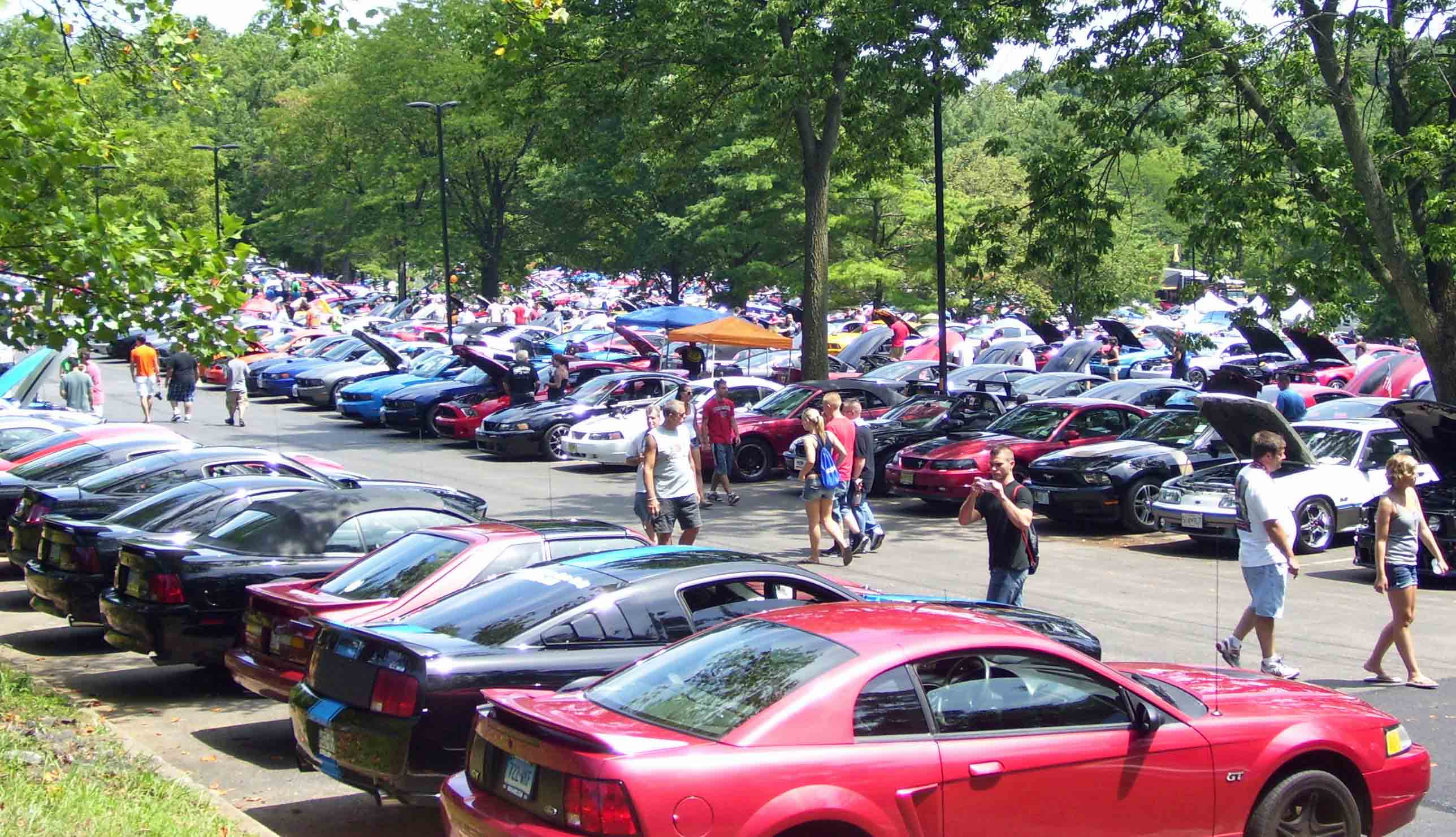 American Muscle Car Show Twin Tiers Mustang Club - Muscle car club